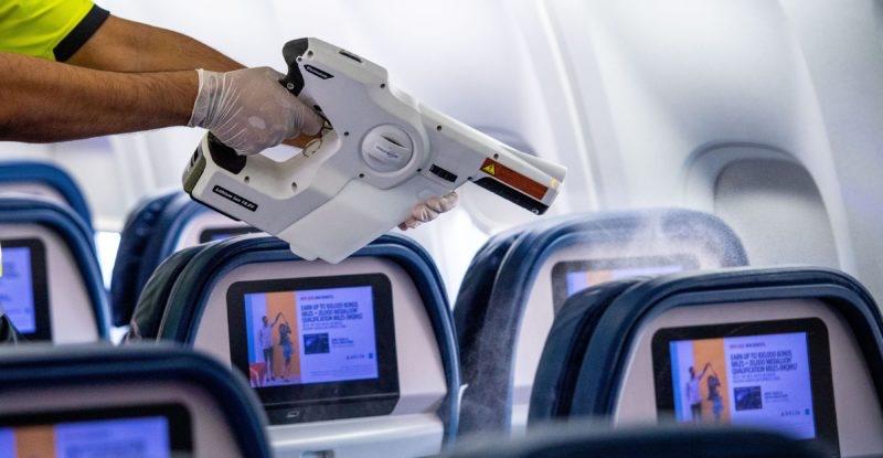 Aircraft Disinfection Procedures