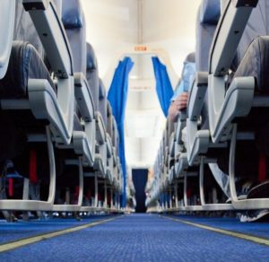 aircraft clean carpet