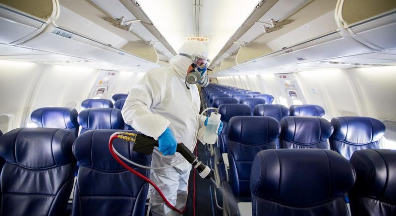 aircraft disinfection service covid 19